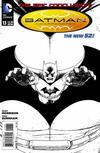 Cover for Batman Incorporated (DC, 2012 series) #13 [Chris Burnham Black & White Cover]