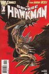 Cover for The Savage Hawkman (DC, 2011 series) #1 [2nd Printing - Red Background]