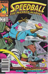 Cover for Speedball (Marvel, 1988 series) #7 [Newsstand Edition]