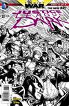 Cover Thumbnail for Justice League Dark (2011 series) #23 [Doug Mahnke Black & White Cover]