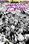 Cover for Justice League Dark (DC, 2011 series) #23 [Doug Mahnke Black & White Cover]