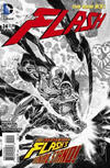 Cover Thumbnail for The Flash (2011 series) #24 [Francis Manapul Black and White Cover]