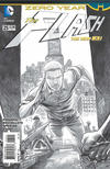 Cover Thumbnail for The Flash (2011 series) #25 [Francis Manapul Black and White Cover]