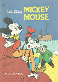 Cover Thumbnail for Walt Disney's Mickey Mouse (W. G. Publications; Wogan Publications, 1956 series) #167