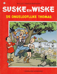 Cover Thumbnail for Suske en Wiske (Standaard Uitgeverij, 1967 series) #270 - De ongelooflijke Thomas