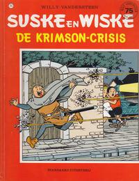 Cover Thumbnail for Suske en Wiske (Standaard Uitgeverij, 1967 series) #215 - De Krimson-crisis
