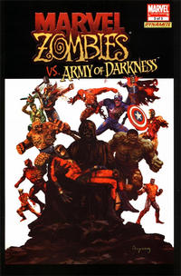 Cover Thumbnail for Marvel Zombies / Army of Darkness (Marvel / Dynamite Entertainment, 2007 series) #3 [Dynamic Forces Variant]