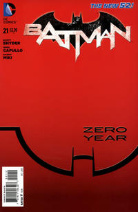 Cover Thumbnail for Batman (DC, 2011 series) #21 [Second Printing]