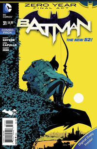 Cover Thumbnail for Batman (DC, 2011 series) #31 [Combo-Pack]