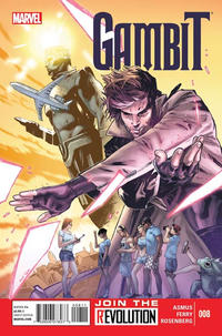Cover Thumbnail for Gambit (Marvel, 2012 series) #8