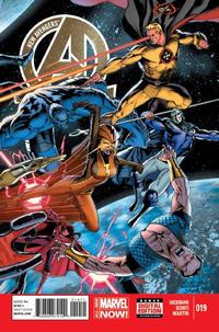 Cover Thumbnail for New Avengers (Marvel, 2013 series) #19