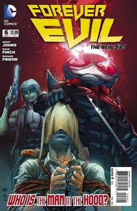 """Cover Thumbnail for Forever Evil (DC, 2013 series) #6 [Ivan Reis / Joe Prado """"Man in the Hood"""" Cover]"""