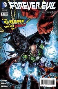 """Cover Thumbnail for Forever Evil (DC, 2013 series) #6 [Ivan Reis / Joe Prado """"Crime Syndicate"""" Cover]"""