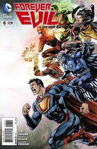 """Cover Thumbnail for Forever Evil (DC, 2013 series) #6 [Ivan Reis / Joe Prado """"Connecting"""" Cover]"""