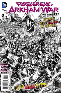 Cover Thumbnail for Forever Evil: Arkham War (DC, 2013 series) #1 [Jason Fabok Black & White Cover]