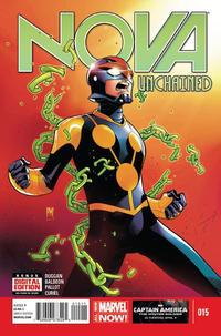 Cover for Nova (Marvel, 2013 series) #15 [Dale Keown Cover]