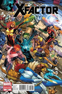 Cover Thumbnail for X-Factor (Marvel, 2006 series) #250 [Clay Mann Variant Cover]