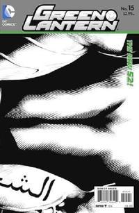 Cover Thumbnail for Green Lantern (DC, 2011 series) #15 [Doug Mahnke / Christian Alamy Black & White Wraparound Cover]