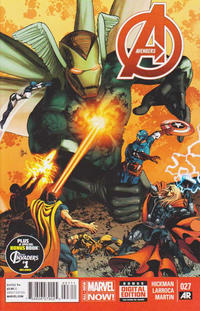 Cover Thumbnail for Avengers (Marvel, 2013 series) #27