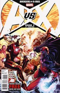 Cover Thumbnail for Avengers vs. X-Men (Marvel, 2012 series) #2 [3rd Printing Variant]