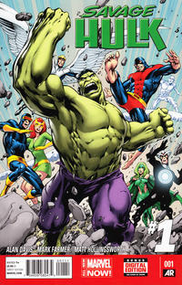 Cover Thumbnail for Savage Hulk (Marvel, 2014 series) #1