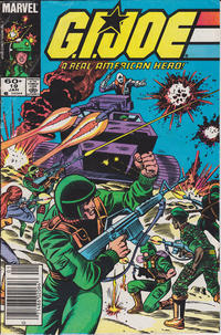 Cover Thumbnail for G.I. Joe, A Real American Hero (Marvel, 1982 series) #19 [Newsstand Edition]