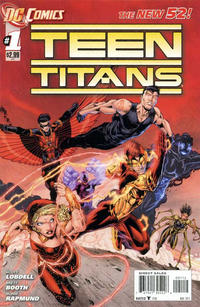 Cover Thumbnail for Teen Titans (DC, 2011 series) #1 [Second Printing]