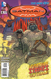 Cover Thumbnail for Batman Incorporated (DC, 2012 series) #6 [Juan Jose Ryp Cover]