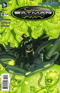 Cover Thumbnail for Batman Incorporated (DC, 2012 series) #10 [Jason Masters Cover]