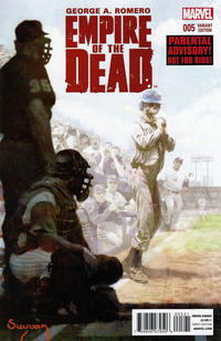 Cover Thumbnail for George Romero's Empire of the Dead (Marvel, 2014 series) #5 [Arthur Suydam NYC Variant]