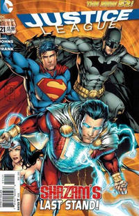 Cover Thumbnail for Justice League (DC, 2011 series) #21 [Shane Davis variant cover]