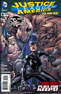 Cover Thumbnail for Justice League of America (DC, 2013 series) #4 [Howard Porter Cover]