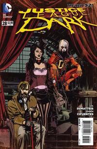 Cover Thumbnail for Justice League Dark (DC, 2011 series) #28 [Tommy Lee Edwards Steampunk Cover]