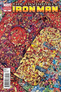 Cover Thumbnail for Invincible Iron Man (Marvel, 2008 series) #527 [Garcin montage]