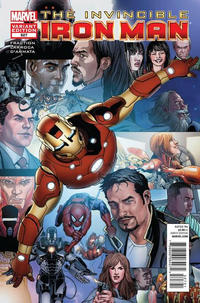 Cover Thumbnail for Invincible Iron Man (Marvel, 2008 series) #527 [Run recap Variant]