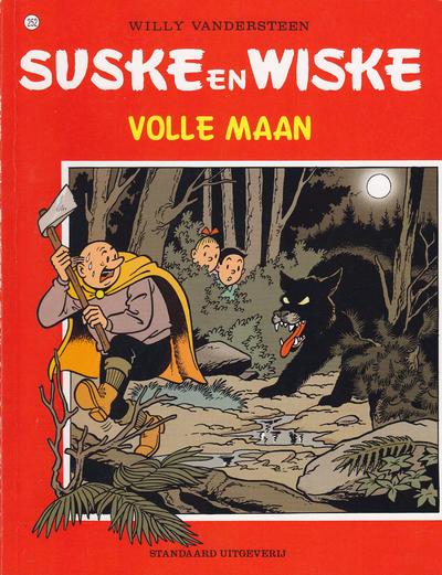 Cover for Suske en Wiske (Standaard Uitgeverij, 1967 series) #252 - Volle maan