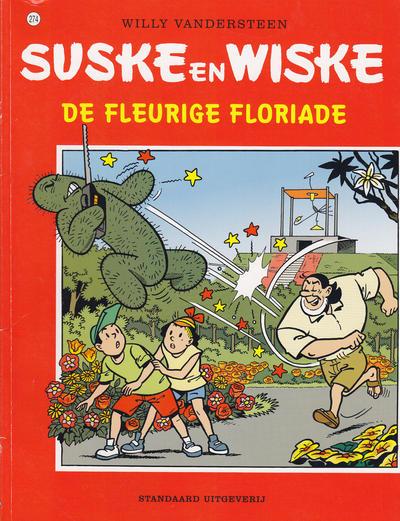 Cover for Suske en Wiske (Standaard Uitgeverij, 1967 series) #274 - De fleurige Floriade