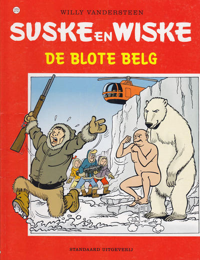 Cover for Suske en Wiske (Standaard Uitgeverij, 1967 series) #272 - De blote Belg