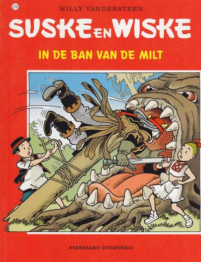 Cover for Suske en Wiske (Standaard Uitgeverij, 1967 series) #276 - In de ban van de milt