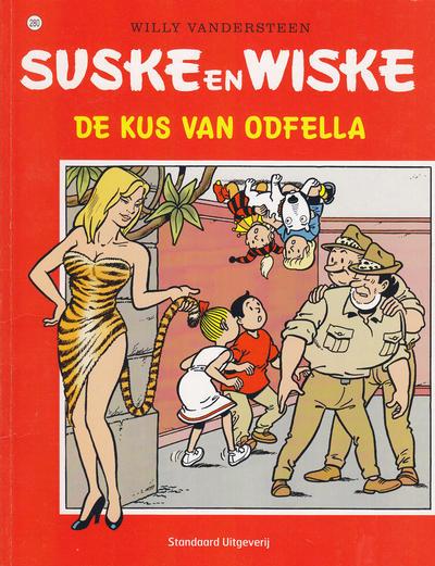 Cover for Suske en Wiske (Standaard Uitgeverij, 1967 series) #280 - De kus van Odfella