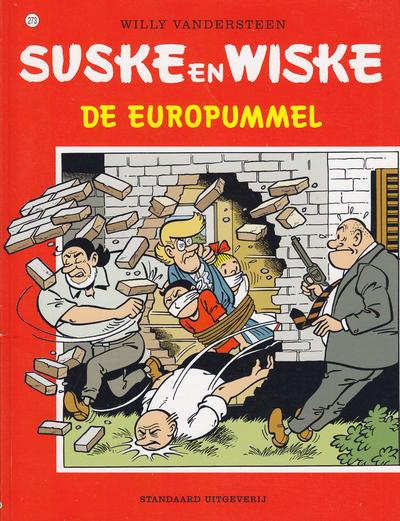 Cover for Suske en Wiske (Standaard Uitgeverij, 1967 series) #273 - De Europummel