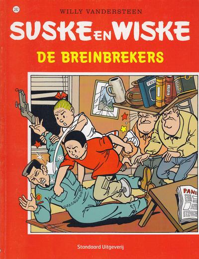 Cover for Suske en Wiske (Standaard Uitgeverij, 1967 series) #282 - De breinbrekers