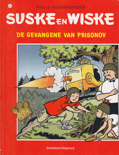 Cover for Suske en Wiske (Standaard Uitgeverij, 1967 series) #281 - De gevangene van Prisonov