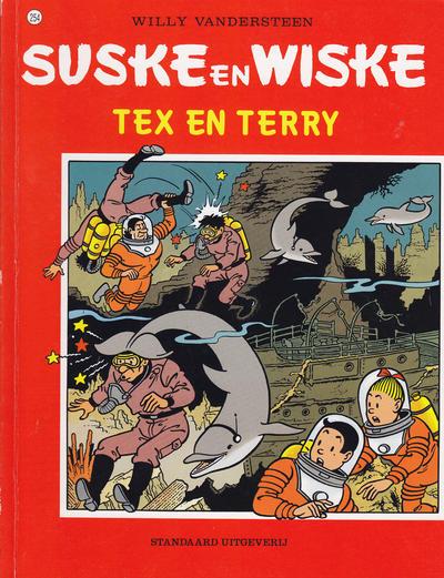Cover for Suske en Wiske (Standaard Uitgeverij, 1967 series) #254 - Tex en Terry