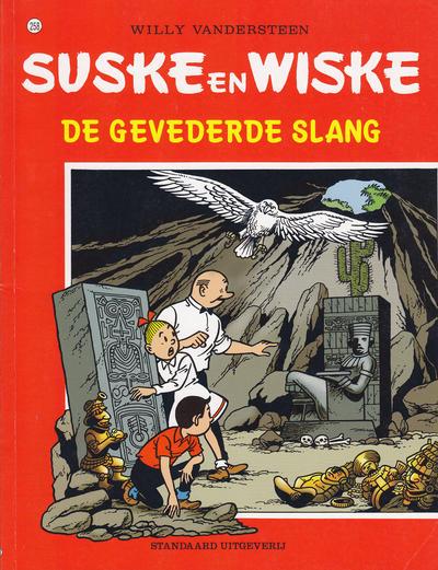 Cover for Suske en Wiske (Standaard Uitgeverij, 1967 series) #258 - De gevederde slang