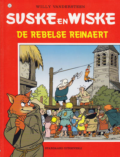 Cover for Suske en Wiske (Standaard Uitgeverij, 1967 series) #257 - De rebelse Reinaert