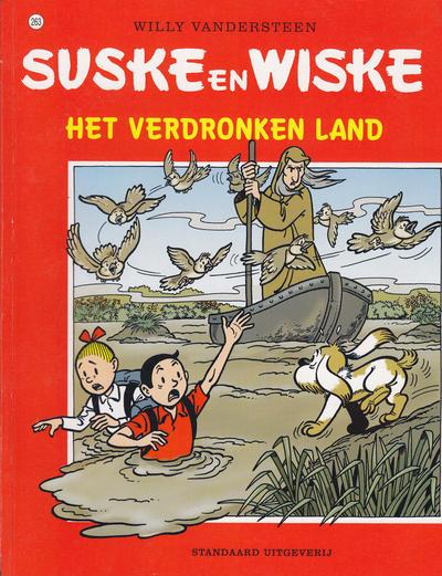 Cover for Suske en Wiske (Standaard Uitgeverij, 1967 series) #263 - Het verdronken land