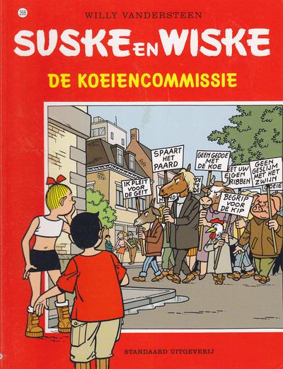 Cover for Suske en Wiske (Standaard Uitgeverij, 1967 series) #268 - De koeiencommissie