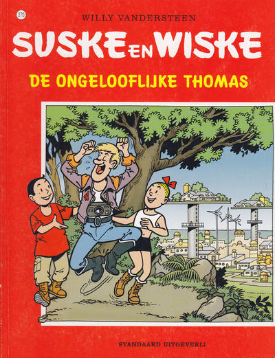 Cover for Suske en Wiske (Standaard Uitgeverij, 1967 series) #270 - De ongelooflijke Thomas