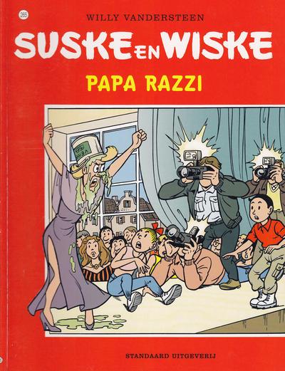 Cover for Suske en Wiske (Standaard Uitgeverij, 1967 series) #265 - Papa Razzi